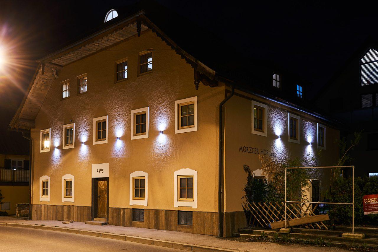 (Morzger Hof). Außenansicht Morzgerhof Salzburg