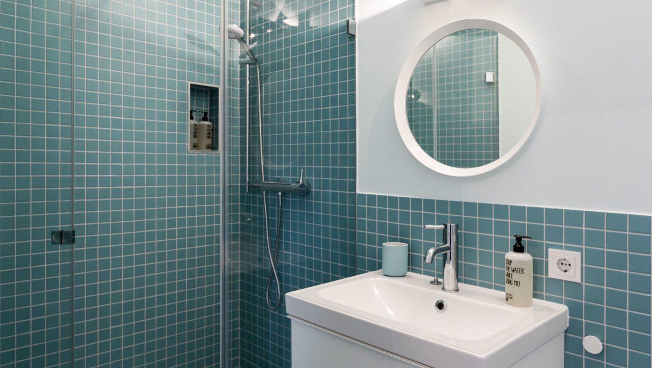 (Villa Charlotte). Raffinierstes Design in den Badezimmern der Villa Charlotte