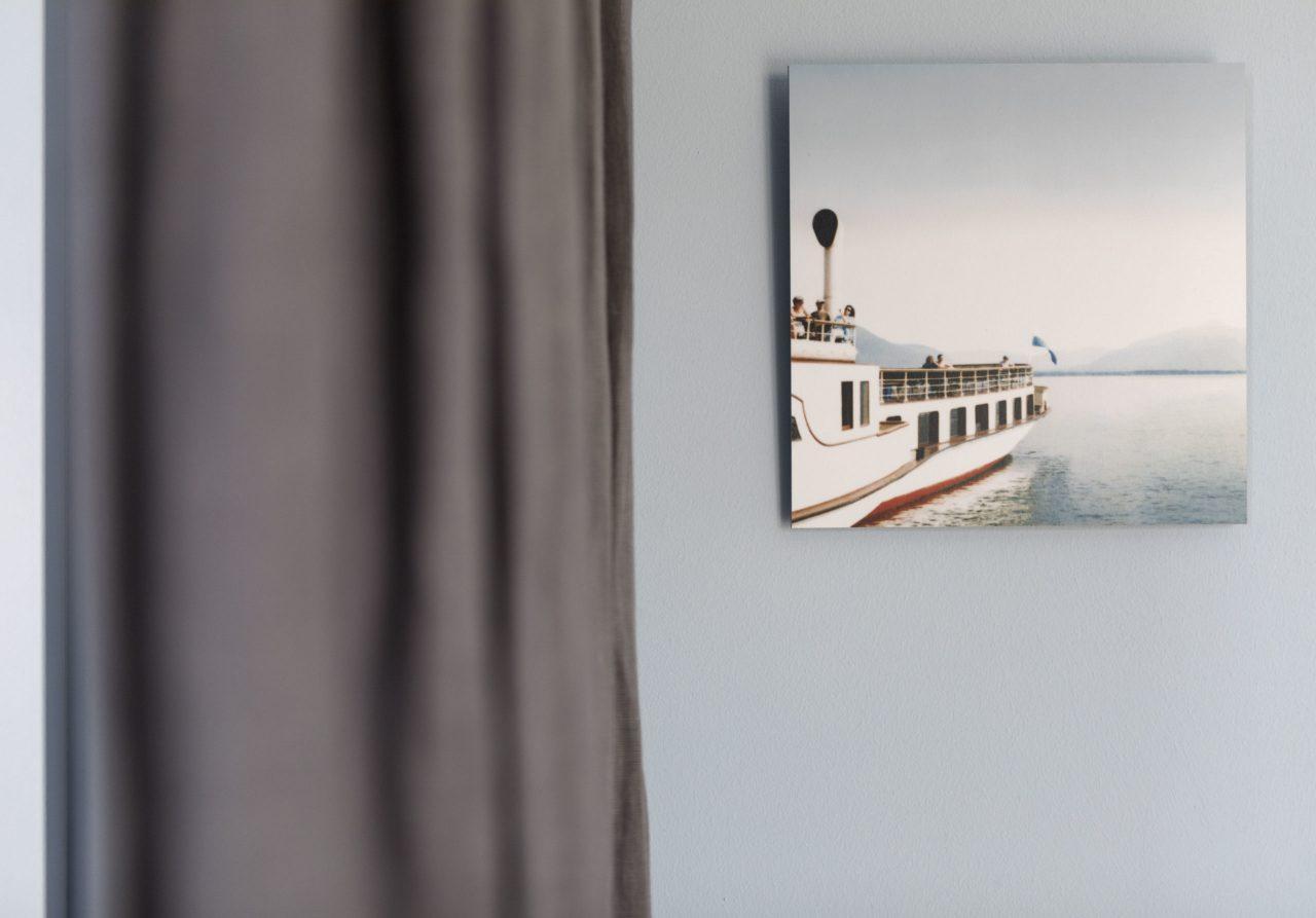 (Villa Charlotte). Stilvolle Details im Apartment Traunsee in der zentral gelegenen Villa Charlotte
