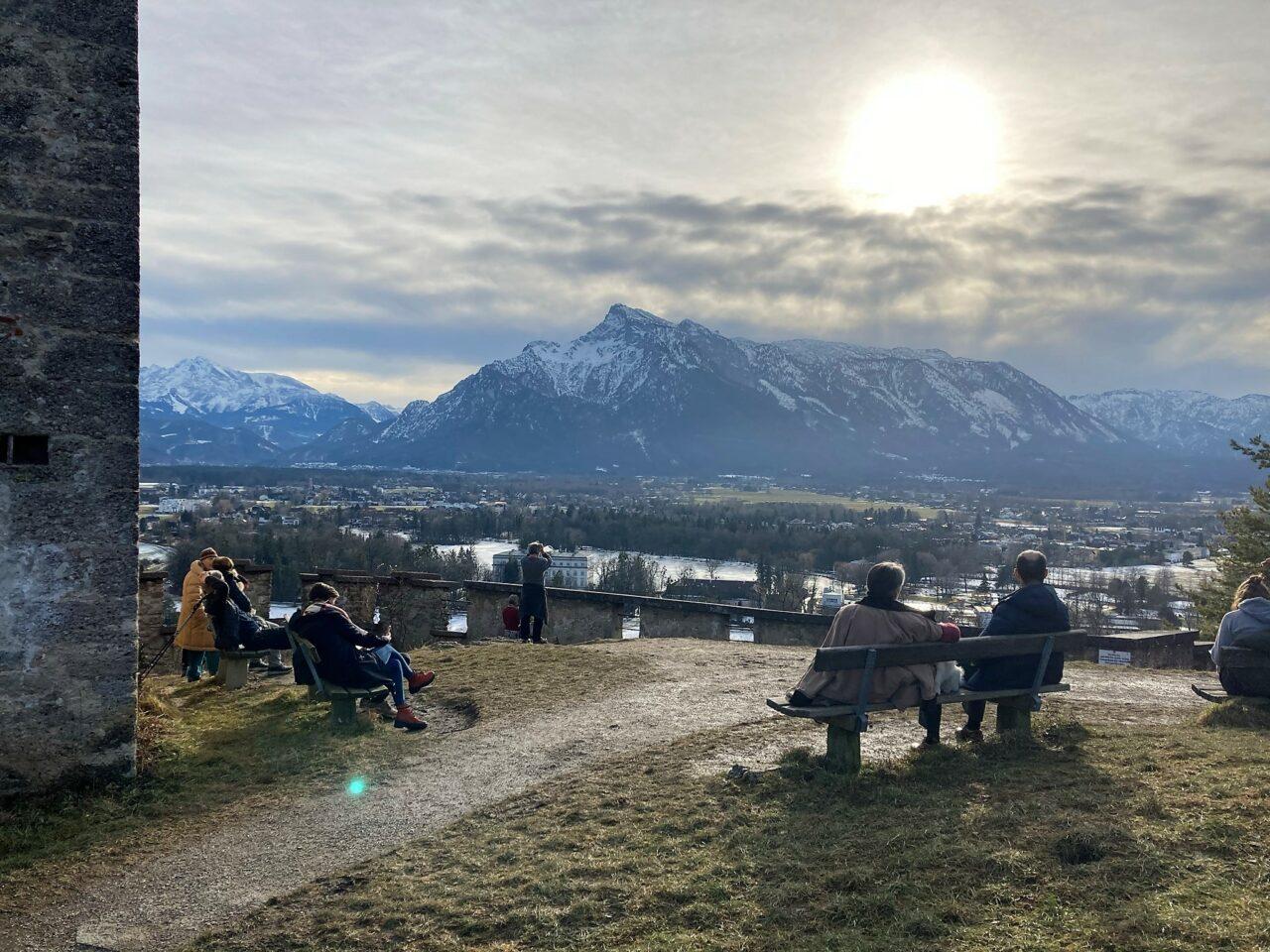 Mountain Mönchsberg Salzburg