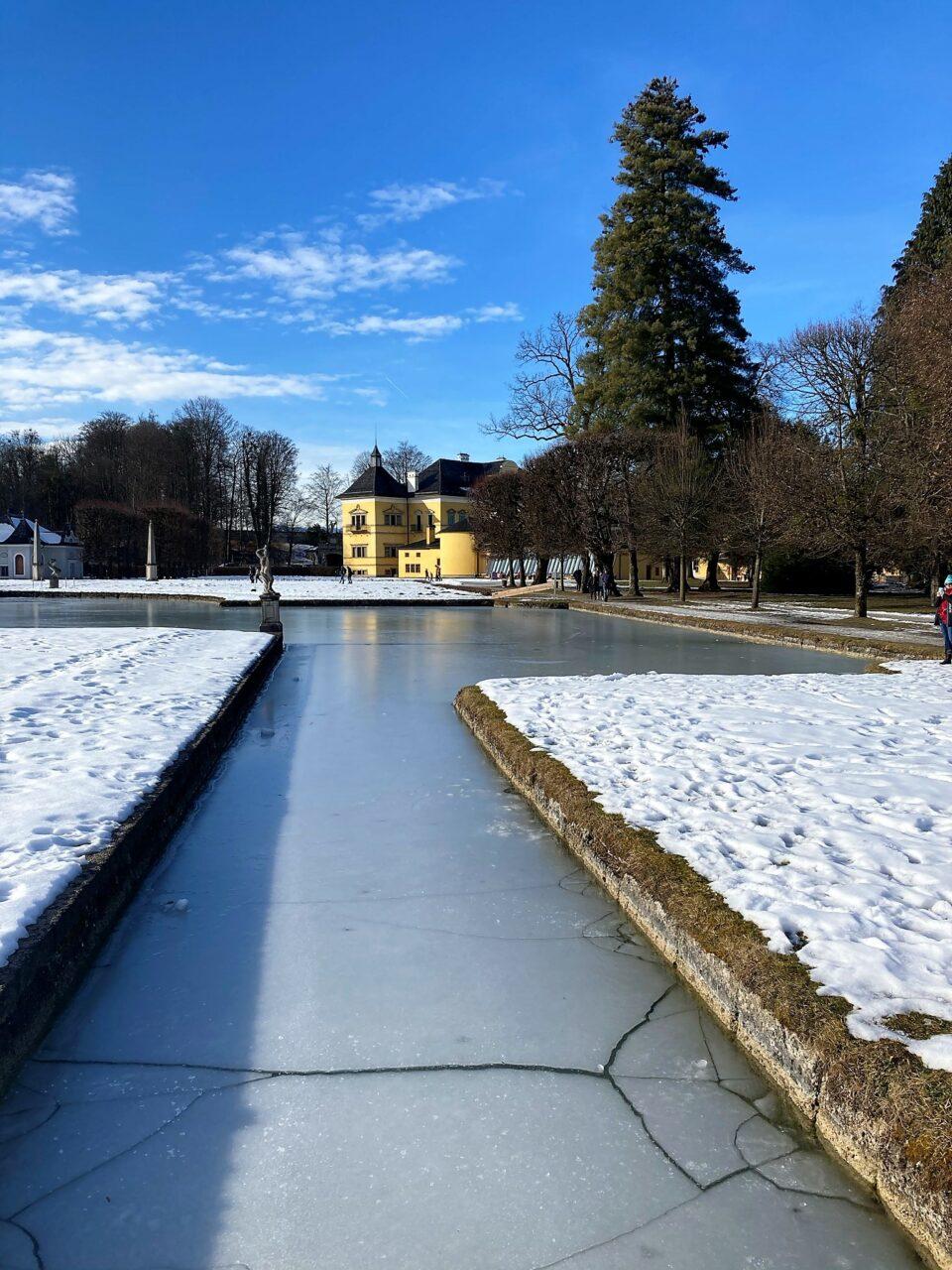 Castle Hellbrunn Park Hellbrunn Salzburg